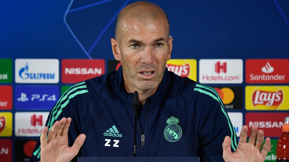 Zinedine Zidane, Real Madrid - Brujas: Fecha 2 Champions League
